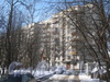 Пр. Маршала Жукова, дом 66, корп. 1. Общий вид дома со стороны двора и дома 3 по ул. Бурцева. Фото февраль 2012 г.