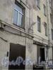 Старо-Петергофский пр., дом 9, лит. Б. Парадная и часть дома со стороны двора. Фото февраль 2012 г.