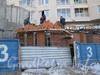 Пр. Маршала Жукова, дом 41. Строительство коммерческих помещений нажК «Маршал-2». Фото март 2012 г.