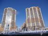 Комендантский пр., дом 51, корп. 1. Общий вид жилого комплекса «Юбилейный». Фото март 2012 г.