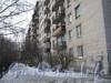Пр. Ветеранов, дом 148. Проход от ул. Тамбасова в сторону домов 152 по пр. Ветеранов вдоль дома 148. Фото март 2012 г.