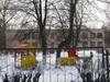 Ветеранов пр., дом 148, корп. 2. Общий вид с ул. Тамбасова. Фото март 2012 г.