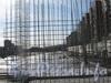 Вид на стройплощадку с Ленинского пр. Фото март 2012 г.