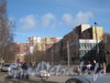 Ленинский пр., дом 95, корп. 2. Общий вид дома с ул. Маршала Захарова. Фото март 2012 г.