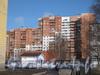 Ленинский пр., дом 93, корп. 2. Общий вид со стороны ул. Маршала Захарова. Фото март 2012 г.