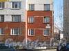 Ленинский пр., дом 79, корп. 2. Фрагмент фасада жилого дома. Фото март 2012 г.