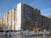Ленинский пр.,75 корпус 2. Угол здания со стороны дома 30 по ул. Маршала Захарова. Фото март 2012 г.