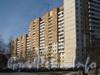 Ленинский пр.,75 корпус 2. Левое крыло здания. Фото март 2012 г. со стороны дома 30 по ул. Маршала Захарова.