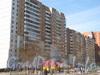 Ленинский пр.,75 корпус 2. Средняя часть здания. Фото март 2012 г. со стороны дома 79 корпус 1.