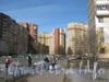 Ленинский пр., дом 77, корпус 1 (в центре) и корпус 2 (справа). Фото март 2012 г.
