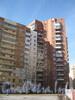Ленинский пр., дом 75 корпус 2. Угол со стороны дома 77 корпус 1. Фото март 2012 г.
