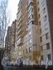 Ленинский пр., дом 75 корпус 2. Часть дома, идущая параллельно дому 79 корпус 1. Фото март 2012 г.