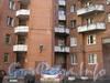 Ленинский пр., дом 75 корпус 2. Парадные на углу дома. Фото март 2012 г.