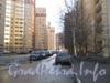 Ленинский пр., дом 75 корпус 2. Проезд вдоль дома от пр. Кузнецова в сторону дома 79 корпус 1. Фото март 2012 г.