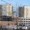Строительство нового здания. Фото март 2012 г.