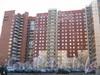 Ленинский пр., дом 75 корпус 2. Общий вид с Ленинского пр. Фото март 2012 г.
