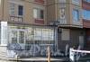 Ленинский пр., дом 79 корпус 3. Дом,улица, дет-сад,фонарь ;-) Вид на крыльцо детского сада и табличку с номером дома. Фото март 2012 г.