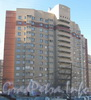 Ленинский пр., дом 77 корпус 2. Общий вид со стороны дома 79 корпус 3. Фото март 2012 г.