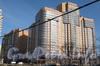 Ленинский пр., дом 84 корпус 1. Построенный дом на углу Ленинского пр. и Брестского бульвара. Фото март 2012 г.