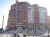 Ленинский пр., дом 87, корпус 1. Общий вид с Брестского бульвара. Фото март 2012 г.