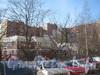 Ленинский пр., дом 97, корпус 2. Общий вид со стороны дома 43, корпус 2 по пр. Маршала Жукова. Фото март 2012 г.