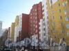 Пр. Маршала Жукова, дом 43 корпус 1. Общий вид части здания, идущей параллельно Ленинскому проспекту. Фото март 2012 г.