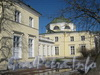 Пр. Стачек, дом 226. Здание детской художественной школы со стороны парка Александрино. Фото март 2012 г.