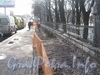 Загородный пр. Прокладка труб на пешеходной части напротив Витебского вокзала. Фото март 2012 г.