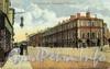 Екатерингофский проспект. Здание Морского гвардейского экипажа. (из сборника «Петербург в старых открытках»)