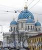 Измайловский пр., дом 7А. Троцкий Собор. Вид с 1-й Красноармейской ул. Фото март 2012 г.