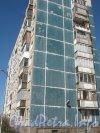 Дунайский пр., дом 5. Угол дома. Фото апрель 2012 г.