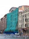 Пр. Добролюбова, дом 17. Реконструкция здания. Фото 2 сентября 2012 года.