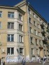 Ленинский пр., дом 116. Правая часть фасада со стороны Ленинского пр. Фото август 2012 г.