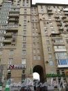 Дунайский пр., дом 34. Фрагмент фасада здания. Фото 2012 г.