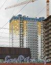Пр. Народного Ополчения, дом 10. Строительство нового жилого дома. Фото сентябрь 2012 г.