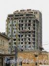 Пр. Юрия Гагарина, дом 7. Строительствожилого комплекса «Космос». Фото сентябрь 2012 года.