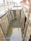 Люботинский пр. Реконструкция стальной водопроводной магистрали. Фото 25 ноября 2012 г.