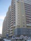 Ленинский пр., дом 57, корпус 1, литера А. Общий вид со стороны дома 55 корпус 1 литера А. Фото 28 января 2013 г.