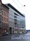 Пр. Добролюбова, дом 8. Фасад  бизнес-центра «Apollo» со стороны проспекта Добролюбова. Фото 2 февраля 2013 г.