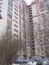 Тихорецкий пр., дом 26. Общий вид со стороны дома 63 по Светлановскому пр. Фото 8 февраля 2013 г.