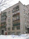 Тихорецкий пр., дом 7, корпус 2. Общий вид со стороны дома 5 корпус 2. Фото 8 февраля 2013 г.