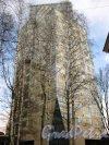 Пр. Юрия Гагарина, дом 7. Вид на западный корпус жилого комплекса «Космос». Фото 23 марта 2013 г.