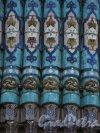 Кронверкский пр., дом 7. Фрагмент майолики купола Соборной мечети. Фото 30 апреля 2013 г.