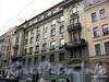 Лермонтовский пр., д. 8, лит. А. Доходный дом Б. В. Печаткина. Фасад здания. Фото август 2009 г.