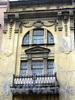 Лермонтовский пр., д. 8, лит. А. Доходный дом Б. В. Печаткина. Фрагмент фасада здания. Фото август 2009 г.