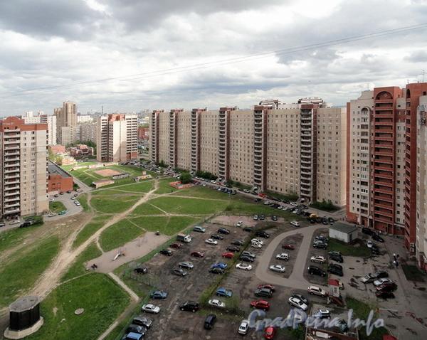 Дунайский пр., д. 24. Вид со двора. Фото июнь 2011 г.