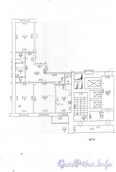 Коломяжский пр., д. 15, корпус 2. Планировка квартир.