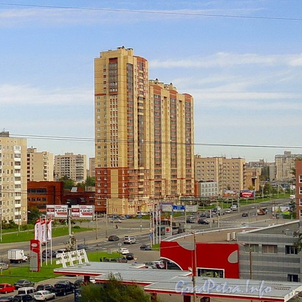 Дунайский пр., д. 28. Общий вид жилого дома. Фото сентябрь 2011 г.