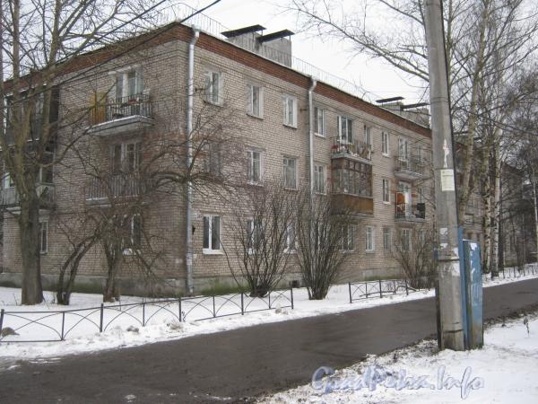 Пр. Народного ополчения, дом 249. Общий вид жилого дома. Фото январь 2012 г.