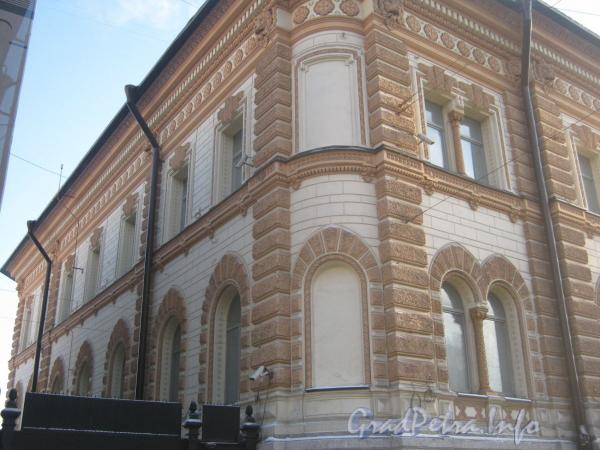 Лиговский пр., дом 62. Фрагмент фасада дома с Лиговского пр. Фото февраль 2012 г.